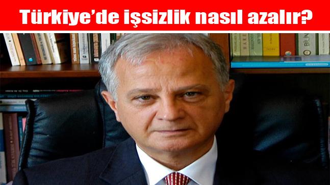 Türkiye'de işsizlik nasıl azalır?