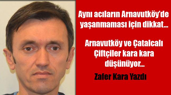 Aynı acıların Arnavutköy'de yaşanmaması için dikkat…