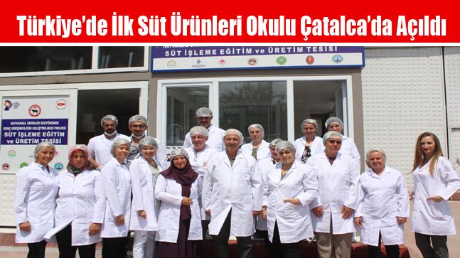 Türkiye'de İlk Süt Ürünleri Okulu Açıldı
