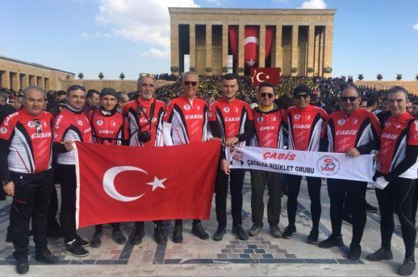 ÇABİS Ankara'da Pedal Çevirdi