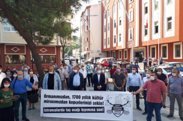 DOĞA KATİLLERİNE KÖYLÜLER 'DUR!' DEDİ