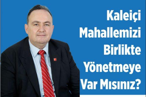 KALEİÇİN'DE SANDIK YARIŞI!
